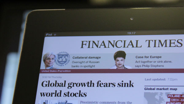 Photo of Financial Times mostra que não precisa da Apple para fazer sucesso no iPad