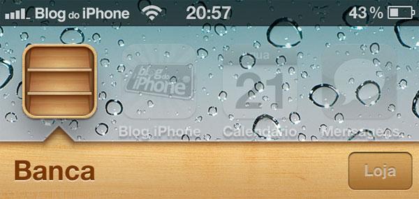 Banca no iOS 5