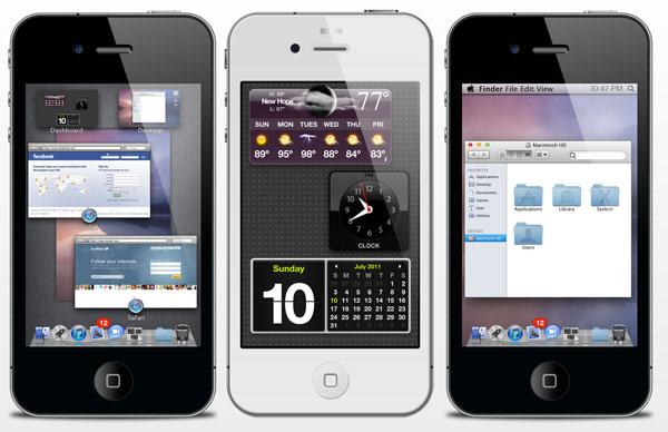 Photo of O incrível tema que faz seu iPhone parecer com um Mac (jailbreak)