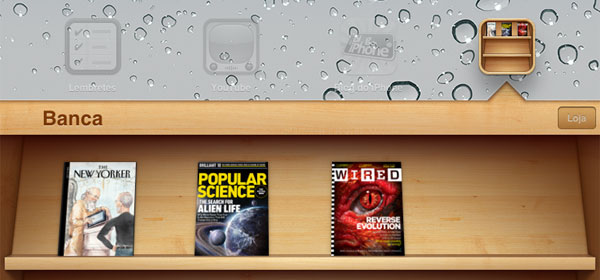Banca de revistas no iOS 5