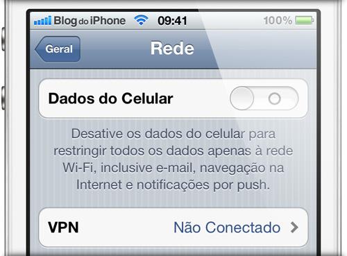 Photo of Por alguma razão desconhecida, o iPhone 4S não tem opção para desligar a rede 3G