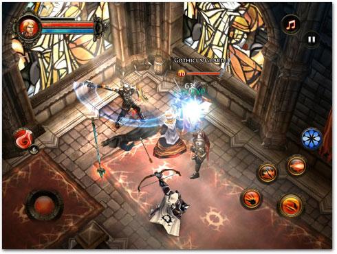 dungeon (Promoção) Baixe jogos da Gameloft por $0,99