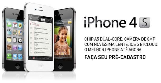 Photo of Operadoras brasileiras começam a fazer marketing promocional usando o iPhone 4S