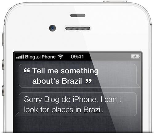 Siri no Brasil