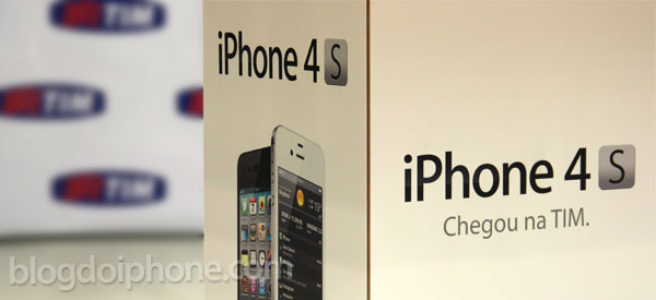 iPhone 4S na TIM