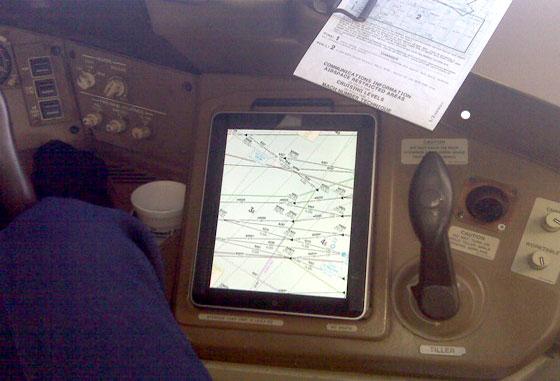 iPad em modo avião