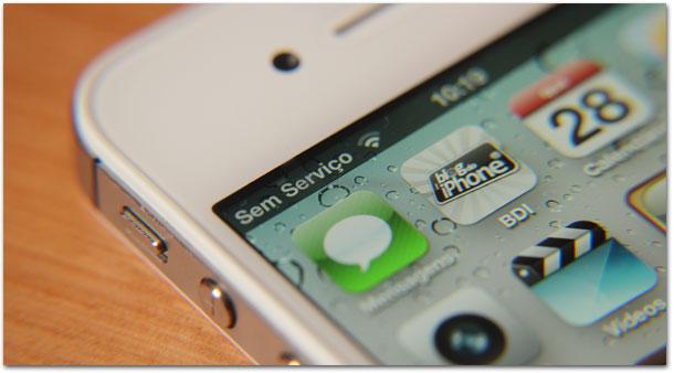"iPhone 4S: S de ""sem serviço"""