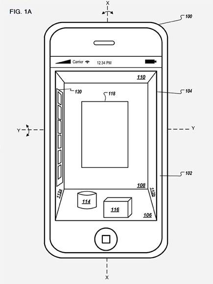 iOS em 3D