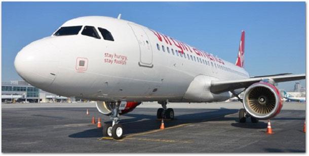 Photo of Virgin Airlines faz homenagem a Steve Jobs em um de seus aviões
