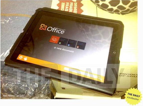 Microsoft Office para iPad