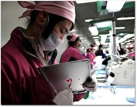 iPad na Foxconn