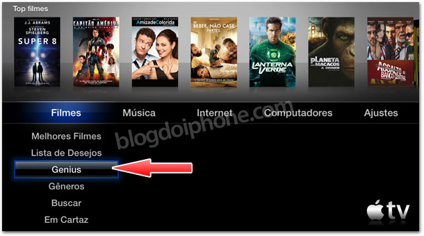 Photo of Apple adiciona funcionalidade 'Genius' na Apple TV para filmes da iTunes Store
