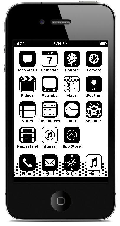 Photo of Como seria o iOS se o iPhone tivesse sido lançado em 1986?