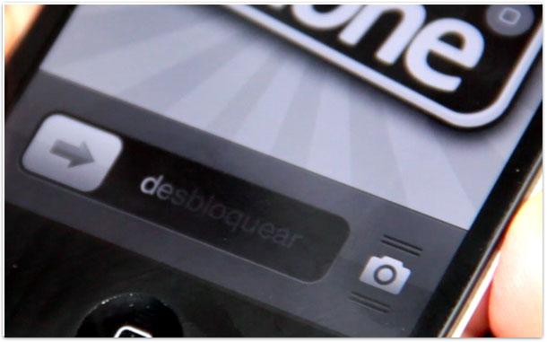Ícone da câmera na tela bloqueada do iPhone