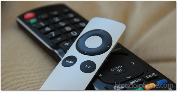 Controle remoto na Apple TV