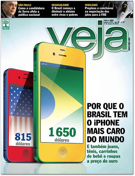 Photo of [opinião] Revista Veja apela para o iPhone para vender mais