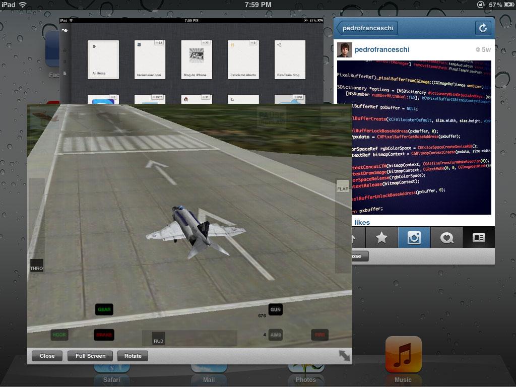 Photo of [jailbreak] Brasileiro consegue levar o verdadeiro multitasking para o iPad