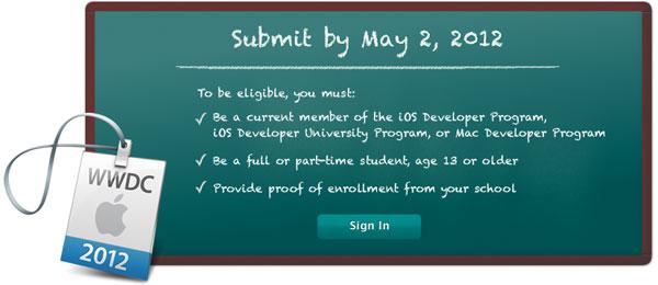 WWDC para estudantes