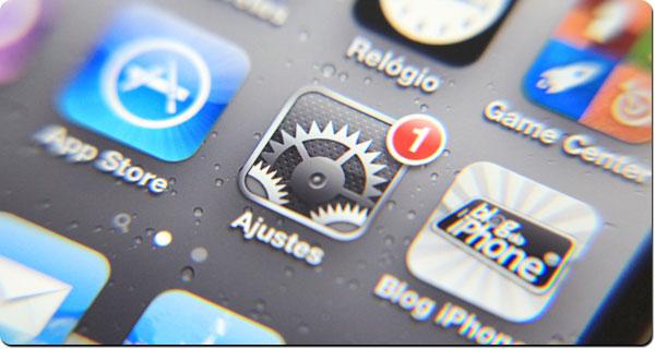 Atualização do iOS pela rede sem fio