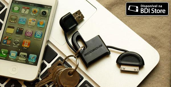 Chaveiro-cabo USB Scosche