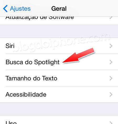 Busca Spotlight