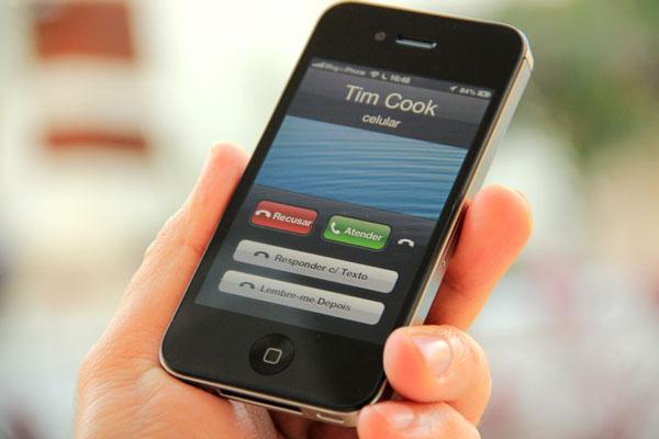 Recusar ligações no iOS 6
