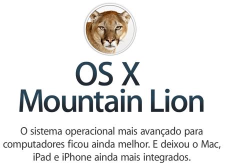 Photo of Mountain Lion, o Mac OS com cara de iPad, já está disponível na Mac App Store