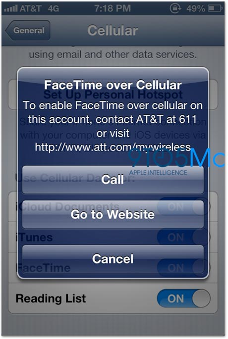 FaceTime pelo Celular