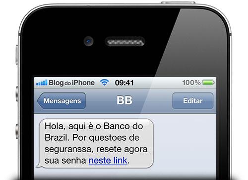 Falha permite SMS falsos