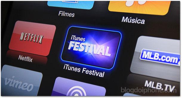iTunes Festival na Apple TV