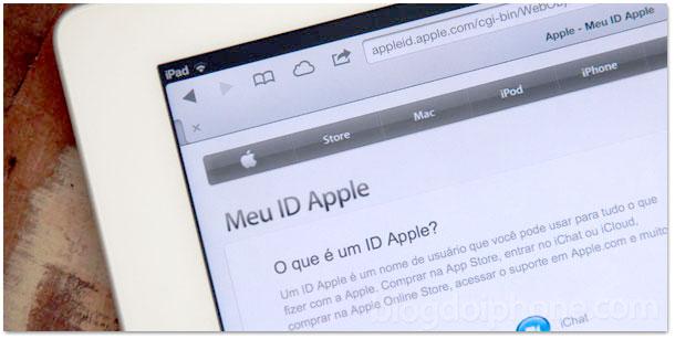 Meu Apple ID