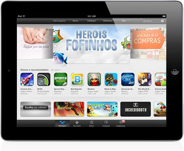 App Store no iPad