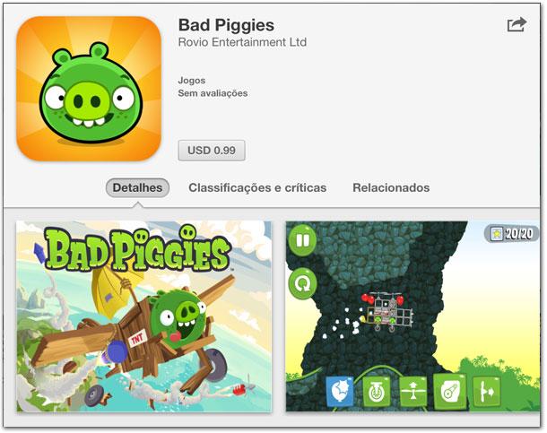 Photo of Jogo Bad Piggies já está disponível na App Store para iPhone, iPod touch e iPad