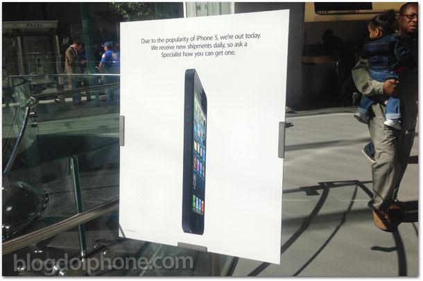 Photo of Começam a faltar estoques de iPhone 5 nas lojas dos Estados Unidos