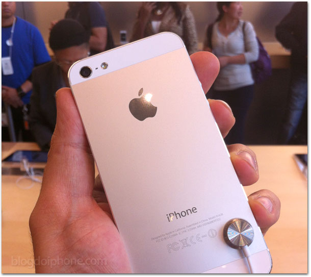 iPhone 5 branco