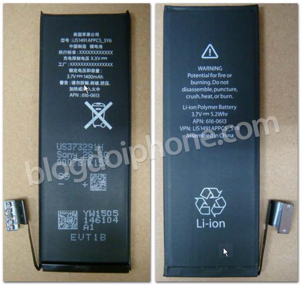 Photo of Bateria do iPhone 5 já foi homologada pela Anatel