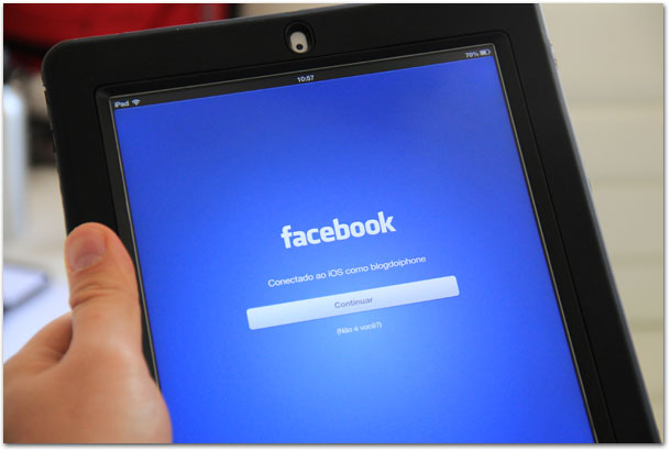 Facebook no iPad