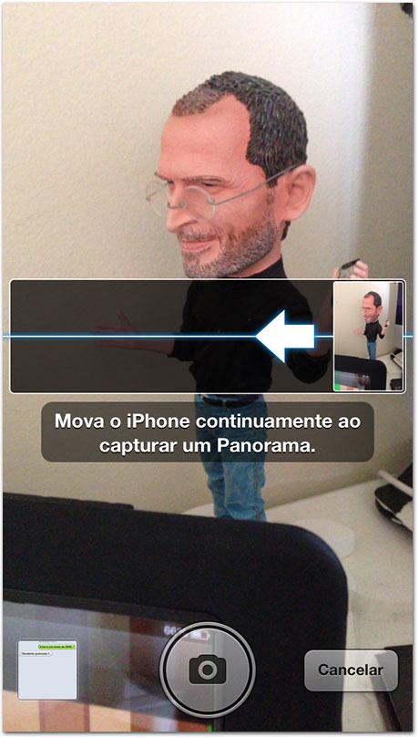 Photo of Como inverter o sentido da captura da foto panorâmica na Câmera do iPhone