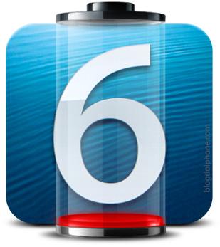 Bateria no iOS 6
