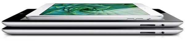 Comparação de iPads