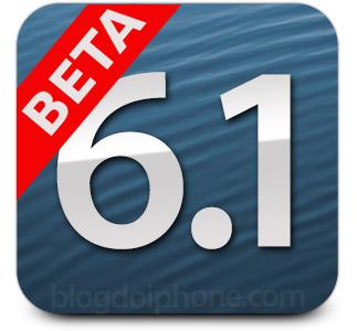 iOS 6.1 beta