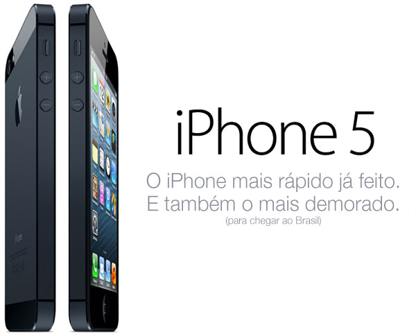 iPhone 5 demorado