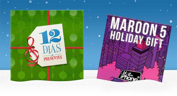 12 Dias de Presentes: Maroon 5