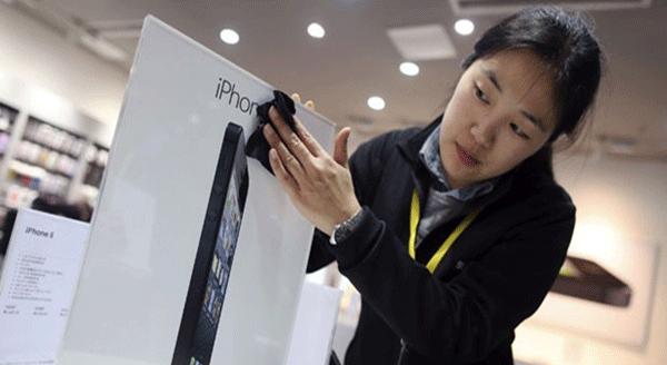 iPhone 5 na China