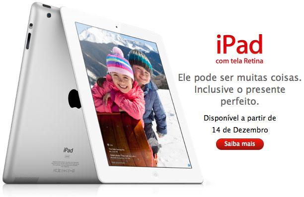 Photo of Novo iPad 4 chega ao Brasil, com preços a partir de R$1.749