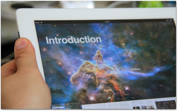 Photo of NASA disponibiliza grátis na iBookstore livro interativo para iPad sobre o Hubble