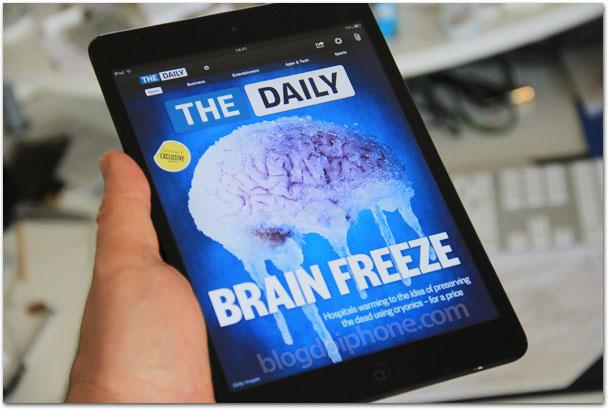 Photo of 'The Daily', o jornal para a era iPad, chega ao fim de vida em menos de 2 anos