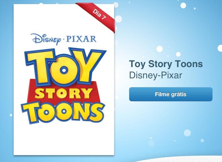 Photo of [grátis] Dois curtas do Toy Story Toons são o sétimo presente da Apple