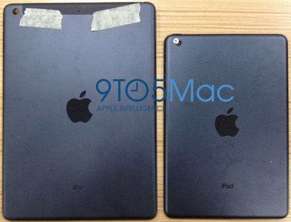 Parte traseira do suposto iPad 5