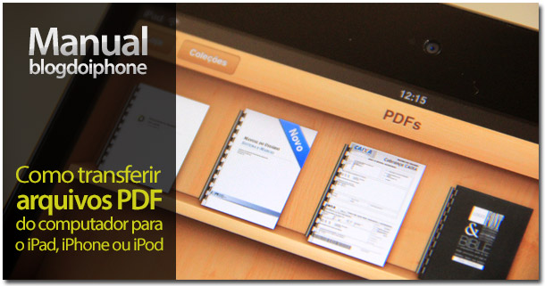 Transferir PDF para o iPad e iPhone